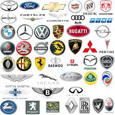 sport cars with names. car manufacturers banners with the names of sport cars s