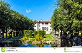 vizcaya museum and gardens is the former villa and estate of businessman james deering located on biscayne bay in coconut grove miami florida
