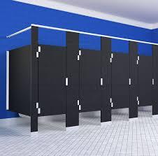 Scranton Solid Plastic Stalls Corner