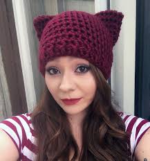 Cat Hat Crochet Pattern Custom Crochet Cat Hat