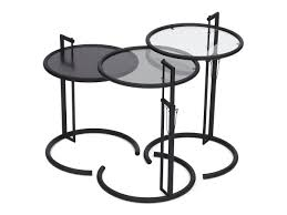 eileen grey furniture. Adjustable Table E 1027 Black Version. By Eileen Gray Grey Furniture