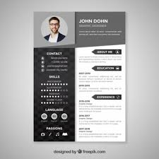 Modern Resume Template Free Download Eadily Read By Resume Reading Soft Wear Resume Vectors Photos And Psd Files Free Download