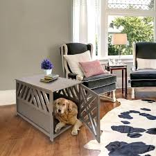 pet crate table crate end table modern lattice pet crate end table pet crate table top pet crate table