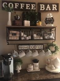 Simple Spring Coffee Bar Kaffee Ecke