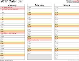 2017 calendars by month 2017 calendar 17 free printable word calendar templates