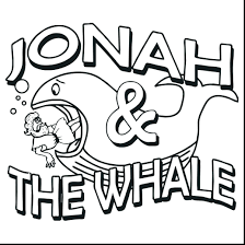 Printable Coloring Pages Jonah And The Whale Hard Jonah And The