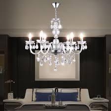 Details Zu Kronleuchter Luster Wohnzimmer Decken Hänge Leuchte Acryldekor Klar 6 Flammig