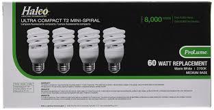 Halco Lighting Norcross Prolume Cfl13 27 T2 4pk 45071 13w T2 2700k Med 4 Pack