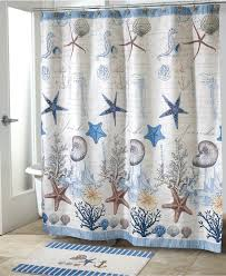 beautiful shower curtains. navy blue shower curtain beach beautiful curtains stall cotton 84 inch