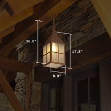 wide solid stem exterior pendant light carriage lantern 8 in wide solid stem exterior pendant light