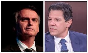 Resultado de imagem para Datafolha: Bolsonaro tem 39% das intenções de voto; Haddad tem 25%
