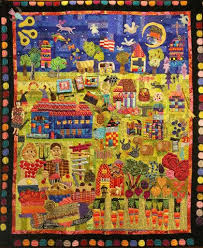 A Fabulous Folk School Story Quilt - John C. Campbell Folk School ... & Instructor Mary Lou Weidman of Spokane, Washington recently sent us a quilt  depicting the story of the Folk School. Three and a half years in the  making, ... Adamdwight.com