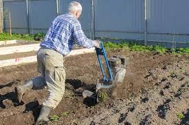 small tiller for your garden