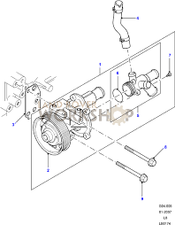 water pump land rover workshop link to this diagram