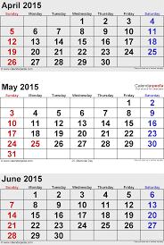 June 2015 Calendars For Word Excel Pdf