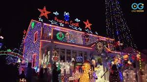 Best Christmas Lights Ever This Is One Of The Best Christmas Lights One News Page Video