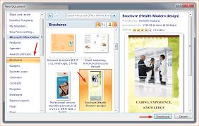 Microsoft Word Pamphlet Pamphlet Maker Microsoft Word Rome Fontanacountryinn Com