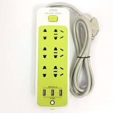 Ổ cắm điện 6 phích cắm 3 cổng usb kiêm sạc điện thoại - OCAM