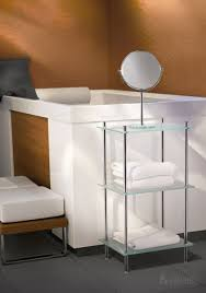 smedbo bath accessories outline bathroom line free standing bathroom 3 frosted glass shelf unit in polished
