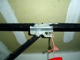 garage door chain loose garage door chain adjustment garage door chain steps to put a back garage door chain loose
