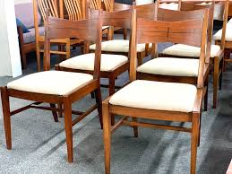 dining table 31 w x 3 leaves 12 each x 42 d x 29 h 1200 set of 10 dining chairs 18 25 seat h x 24 w x 20 25 d 2500 2 captain 8 side chairs
