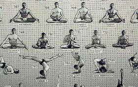 908 Posture Yoga Poster