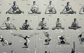 Yoga Pose Chart Poster 908 Posture Yoga Poster