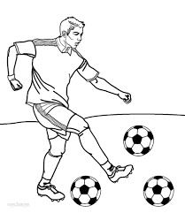 Good Football Player Coloring Pages 48 About Remodel Line Drawings ...