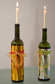 How To Decorate A Wine Bottle For Christmas Transforming Wine Bottles Into Candles Candle Inventor 58