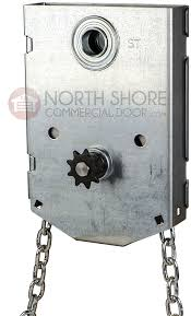 garage door jr jackshaft chain hoist 1 shaft for sectional doors