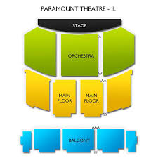 Seating Chart Paramount Theater Aurora Il Beauty And The Beast Thu Dec 26 2019 1 30 Pm Paramount