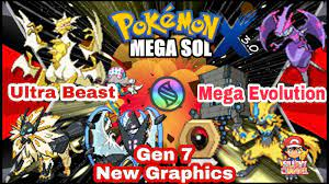 Pokemon Mega Sol X (Completed) v3.0 GBA ROM Hack 2021, With Mega Evolution,  Gen 1 - 7, Ultra Beast and More