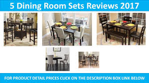 Small Picture 5 Best Dining Room Sets 2017 YouTube