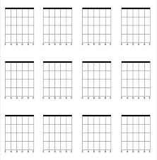 Blank Guitar Chord Chart Rome Fontanacountryinn Com