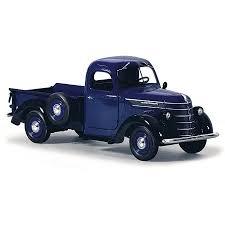 1938 International D-2 Pickup Truck IH Blue / Black 1/25 Diecast ...