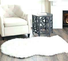 faux fur rug white gray faux fur rug white fur rug medium size of rugs zebra