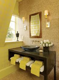 brown and green bathroom accessories. Bathroom Decorating Ideas For Fall With Light Brown Wall Tiles And Green Accessories