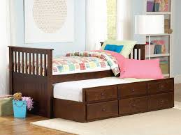 size bed  beautiful kids twin bed with storage modern trundle bed