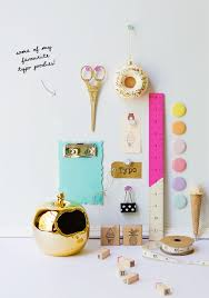cute desk accessories found on this blog post