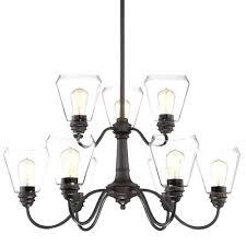 9 bulb chandelier branching bubble chandelier branching