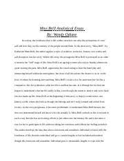 english english archbishop o leary page  4 pages miss brill essay