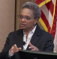 Image result for Chicago Mayor Lori Lightfoot