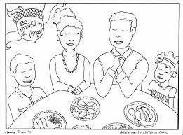 Small Picture Pages To Print Colouring Page Thanksgiving Dinner Coloring Pages