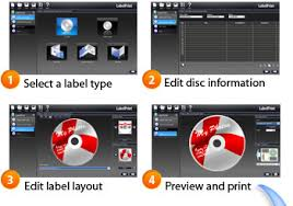 How To Label Dvds Cyberlink Labelprint Design Print Stylish Cd Dvd Labels