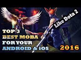 ini bukan analog 3 game moba for android ios like dota 2