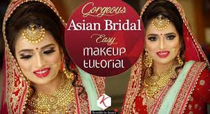 asian bridal makeup tutorial step by step bridal makeup tutorial videos krushhh by konica