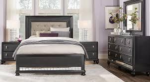 Sofia Vergara Paris Black 5 Pc Queen Bedroom