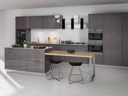 image modern kitchen. Grey Oak Modern Door Style Image Kitchen L