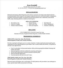 Dental Assistant Resume Template Stunning Download Dental Assistant Resume Template 28 Free Word Excel Www