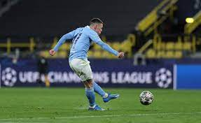 Watch Phil Foden thunderbolt fly in off the post as he runs straight to Man  City chief Guardiola in jubilant celebration